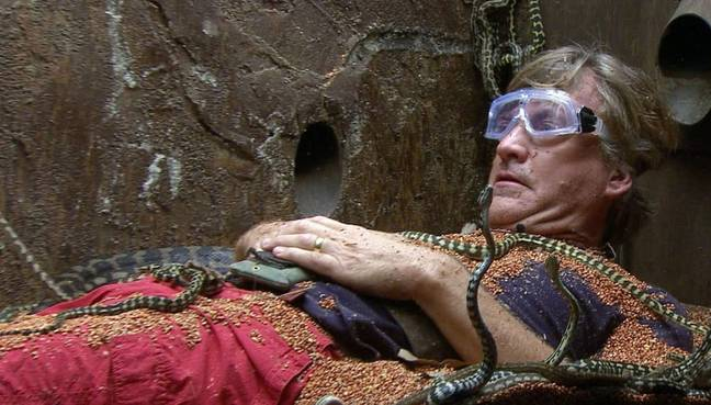 Richard Madeley in Extra Camp. (ITV2)