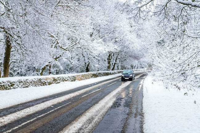 Winter is a dangerous time to be on the roads. (Alamy)
