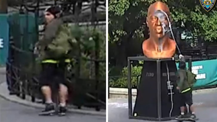 George Floyd's Brother Wants To Meet With NYC Statue Vandal